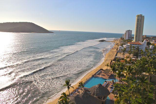 Fantastic ocean views. - Islas del Sol 1209: Sun, sand and surf! - Mazatlan - rentals