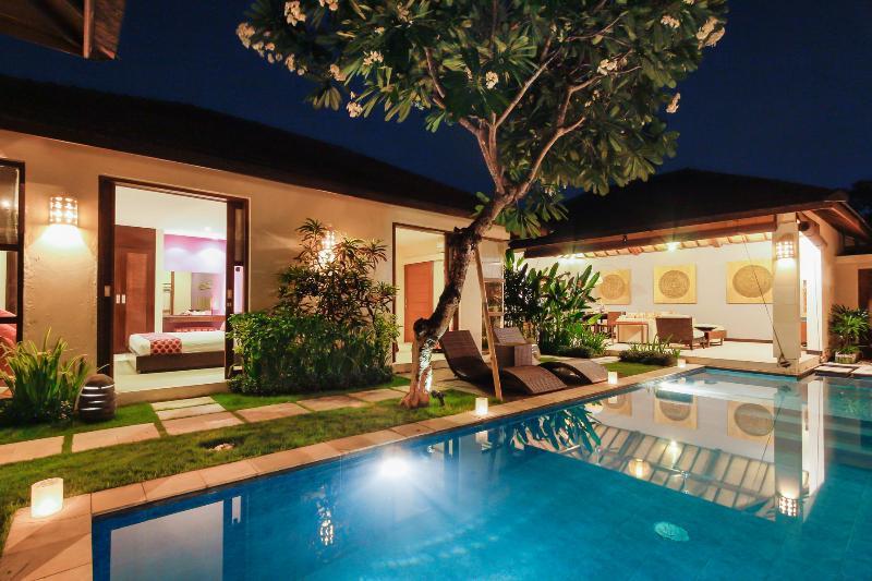 Open-Air 2 bedrooms Villas in Legian - Image 1 - Seminyak - rentals