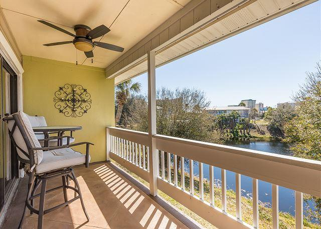 Back Terrace - Book Now 15% Off Spring Special March-May 26! Affordable 1 Bed 1 Bath Condo - Destin - rentals