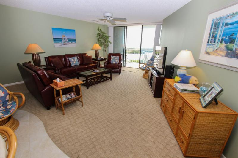 Living Area - SST4-1101 - South Seas Tower - Marco Island - rentals