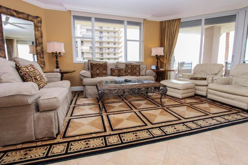 Living Area - Som 401 - Somerset - Marco Island - rentals
