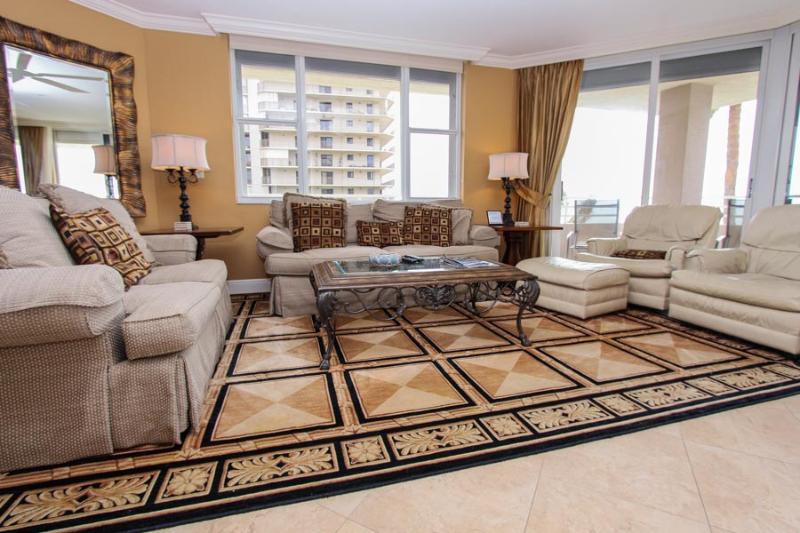 Living Area - Som 401 - Somerset - Marco Island - rentals