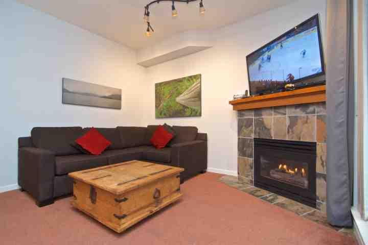 Living room with sofa bed - Northstar Townhouse unit 83 - Whistler - rentals