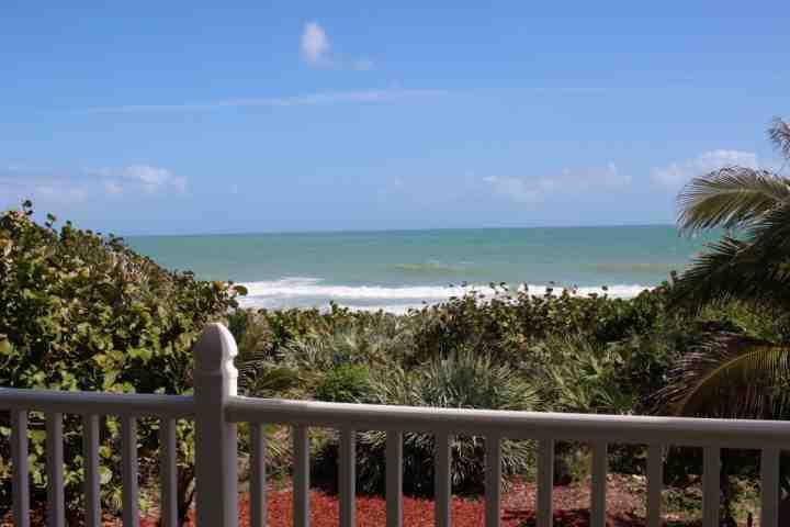Breezy, ocean view from the balcony - **Winter Promo** The Turtle Spot - Beach Front Home, Perfect for Families - Melbourne Beach - rentals