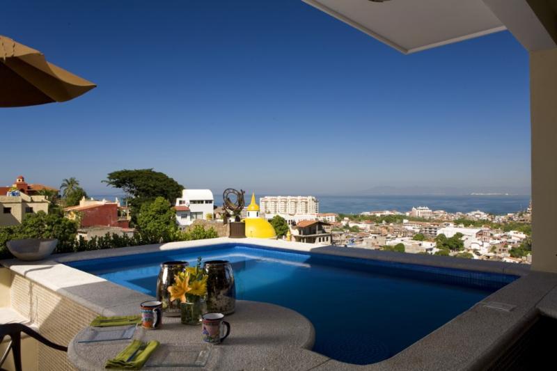 CASA CELESTE -  Elegant studio penthouse, pool - Image 1 - Puerto Vallarta - rentals