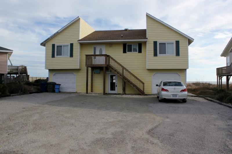 Front Exterior - Sandpiper-SAT 4BR - Emerald Isle - rentals