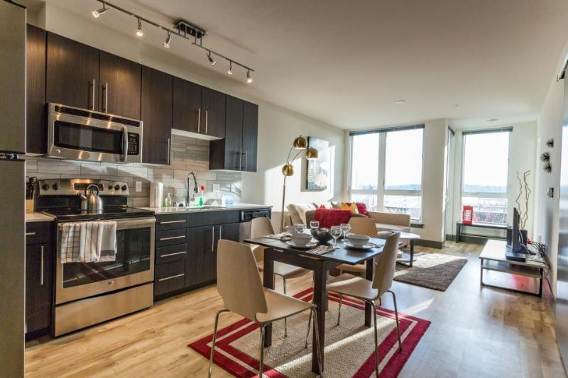 Modern dog-friendly condo right in the middle of Belltown! - Image 1 - Seattle - rentals