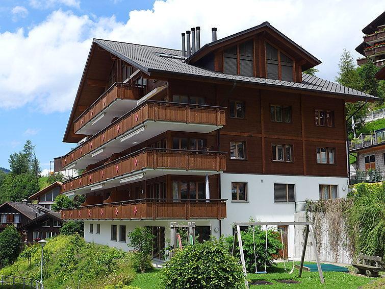 3 bedroom Apartment in Wengen, Bernese Oberland, Switzerland : ref 2300568 - Image 1 - Wengen - rentals