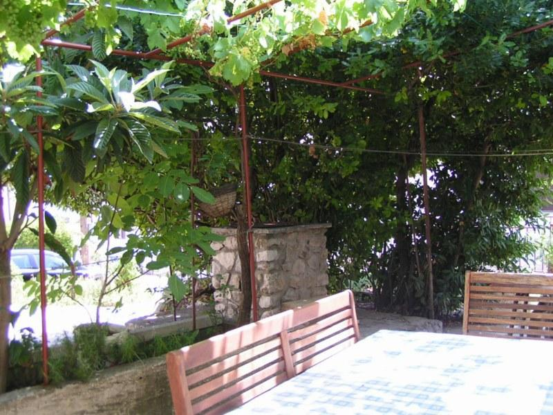 H(4): courtyard - 5385  H(4) - Vrbnik - Vrbnik - rentals