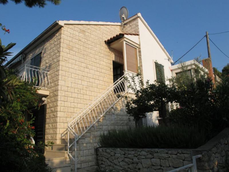 house - 7978 H(6+1) - Splitska - Splitska - rentals