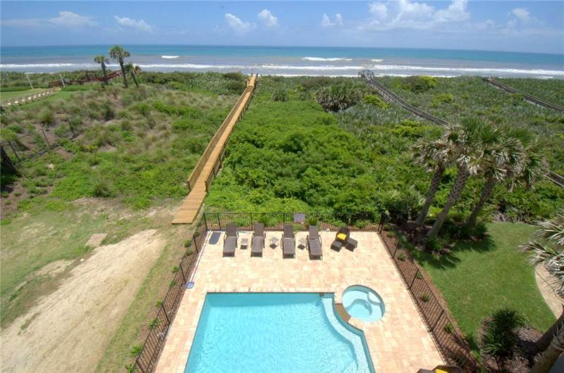 Tiki Tides, 7 Bedroom, Ocean Front, Cinnamon Beach, Private Pool, Sleeps 14 - Image 1 - Palm Coast - rentals