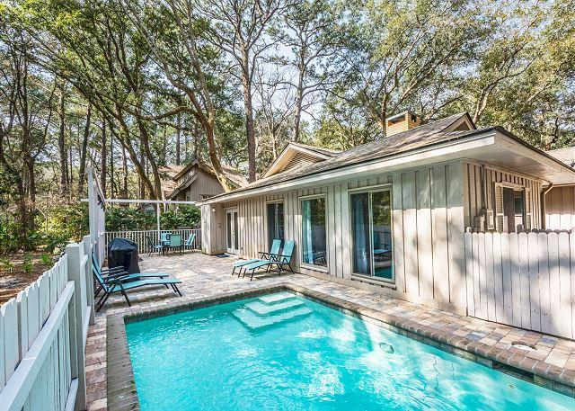 Private Pool - Cotton 1, 3 Bedrooms, Private Pool, Fenced Yard, Pet Friendly, Sleeps 8 - Hilton Head - rentals