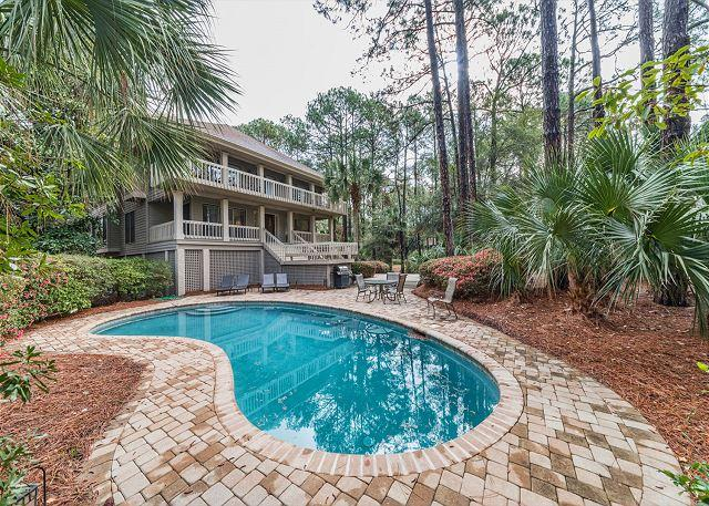 You've Arrived! - Brown Pelican 1, 4 Bedrooms, 2 Row to Beach, Private Pool, Sleeps 10 - Hilton Head - rentals