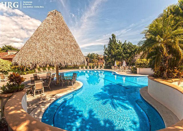 Pool Area at Colina Community at Los Sueños. - Family Friendly Luxury Condo Overlooking Golf Greens at Los Sueños by HRG! - Herradura - rentals