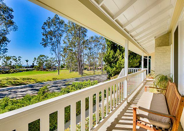 Front porch to view amazing sunsets - 20% OFF DEC DATES - Beautiful Dana Point Cottage-Ocean View, Large Grass Park - Capistrano Beach - rentals