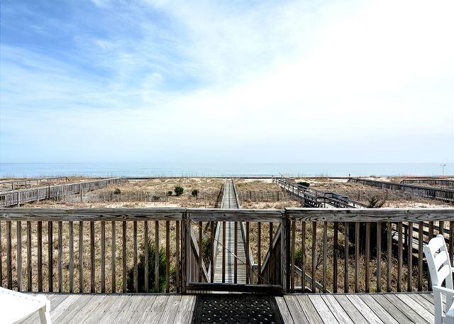 Dalton Son - Beautiful 5 bedroom oceanfront home, perfect for families. - Image 1 - Kure Beach - rentals
