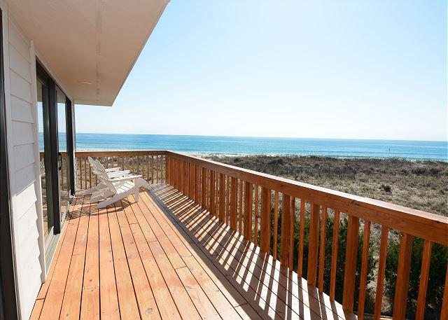Sea Oats -  Enjoy a soothing vacation getaway in this quiet ocean view home - Image 1 - Wrightsville Beach - rentals