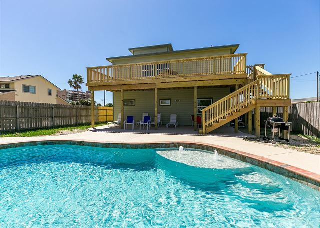 Private Pool - Leave of Absence: Ocean Views, PRIVATE POOL, Walk to Beach, Rooftop Deck - Port Aransas - rentals