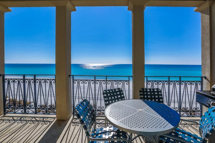 porch view - Villa Royale - Miramar Beach - rentals