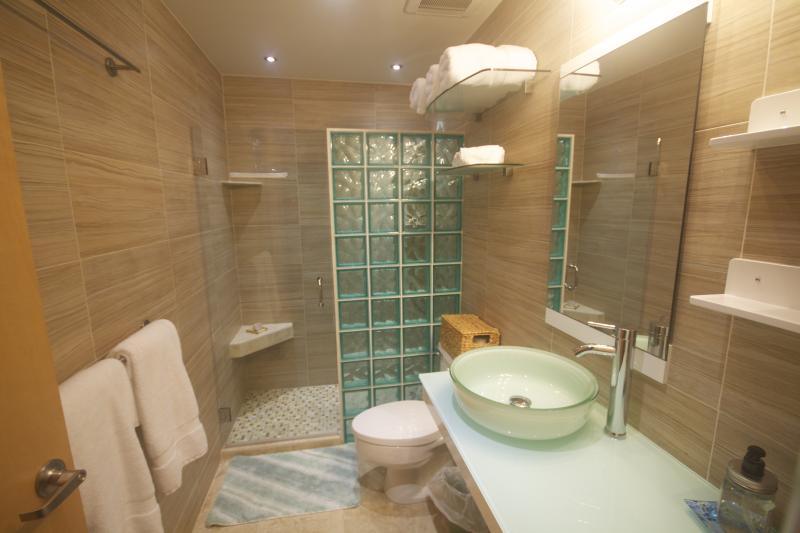 Upper Bathroom - Ocean Views and Breezes with Plants and Patio Furn - Humacao - rentals