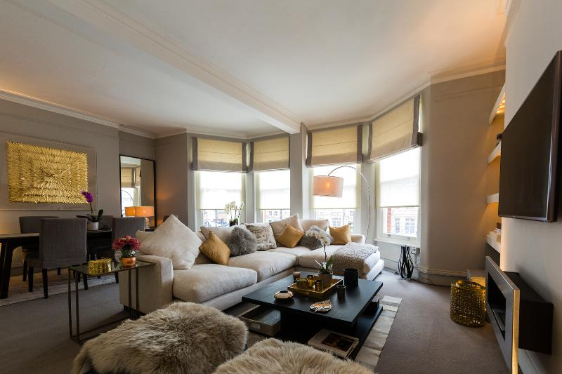 A stylish two-bed apartment near the River Thames. - Image 1 - London - rentals