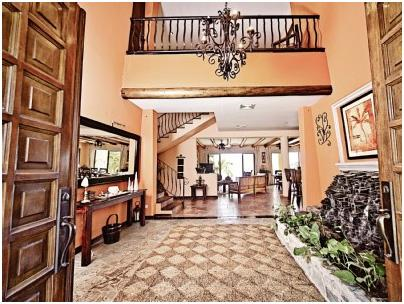 Main Entrance - Ocean and Mountain View Spacious Villa - Playa Potrero - rentals