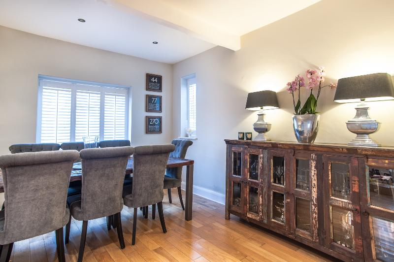An impressive four-bedroom family home in the suburban idyll of Raynes Park. - Image 1 - London - rentals