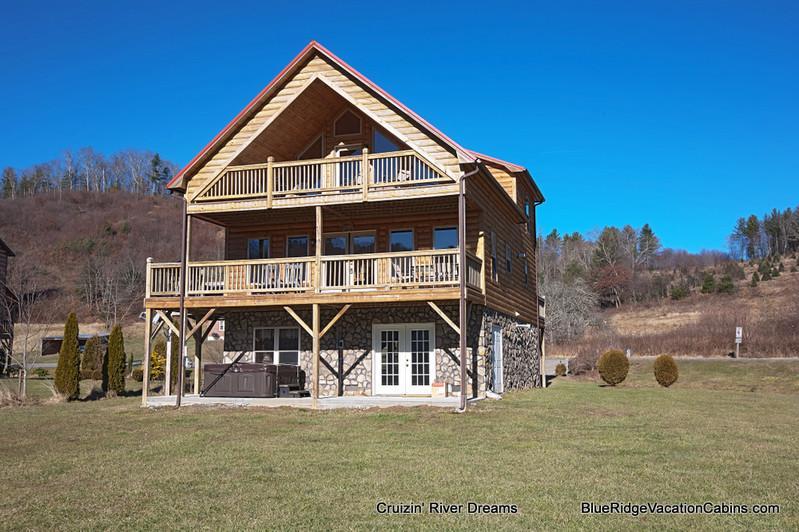 Cruizin' River Dreams - RIVERFRONT Log Cabin*Firepit*HotTub*Big Gameroom - Fleetwood - rentals