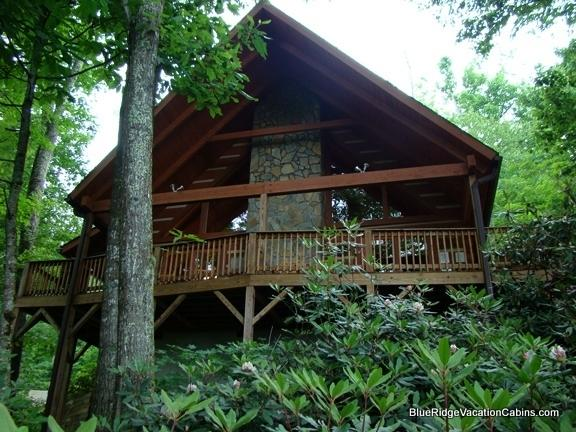 Farallon - Cozy Private Valle Crucis Log Cabin*Firepit*HotTub - Valle Crucis - rentals