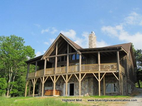 """Welcome to Highland Mist – you will be so impressed with the unique """"top of the world"""" views in this custom Banner Elk home just completed in July 2011 you will find it difficult to leave. - Highland Mist - Beech Mountain - rentals"""
