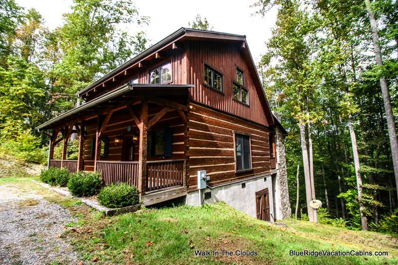Walk In The Clouds - Custom Cabin Min to Hebron Falls & ASU*Hot Tub*AC - Boone - rentals