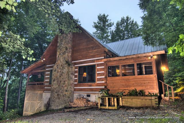 A Cozy Log Cabin with a View and Forest - Timber Creek Cabin 1 - Valle Crucis - rentals