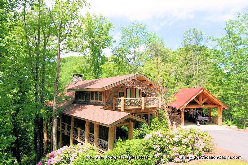 Red Stag Lodge - Red Stag Lodge @ Eagles Nest*Hot Tub*Huge Gameroom - Banner Elk - rentals