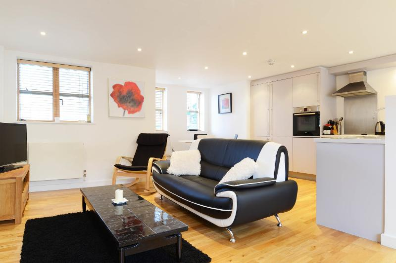 Open-plan two-bed apartment on Lacy Road. - Image 1 - London - rentals