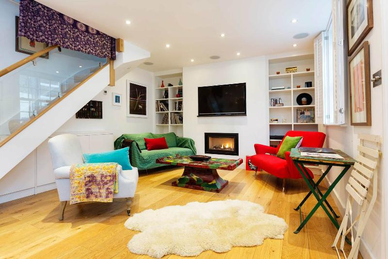 Located in Westbourne Grove by Portobello Road is this charming two-bedroom mews house. - Image 1 - London - rentals