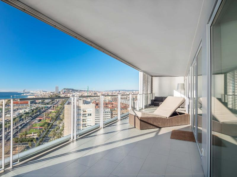 Large Barcelona Apartment in Diagonal Mar with Balcony and Sea Views  - Gustavo - Image 1 - Barcelona - rentals
