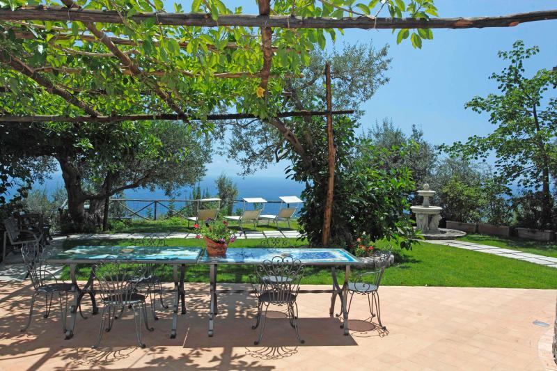 Large Villa near Amalfi Overlooking the Sea  - Borgo Mare - Image 1 - Amalfi - rentals