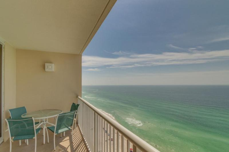 Gulf front condo with a jetted tub, beach access & shared pools and hot tubs! - Image 1 - Panama City Beach - rentals