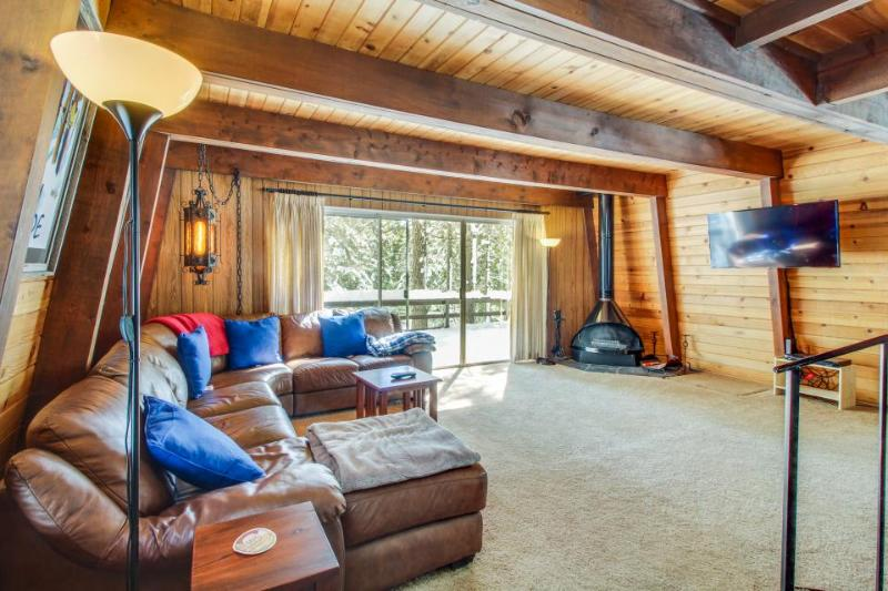 Classic dog-friendly cabin with a private beach park & docks, close to skiing! - Image 1 - Tahoe City - rentals