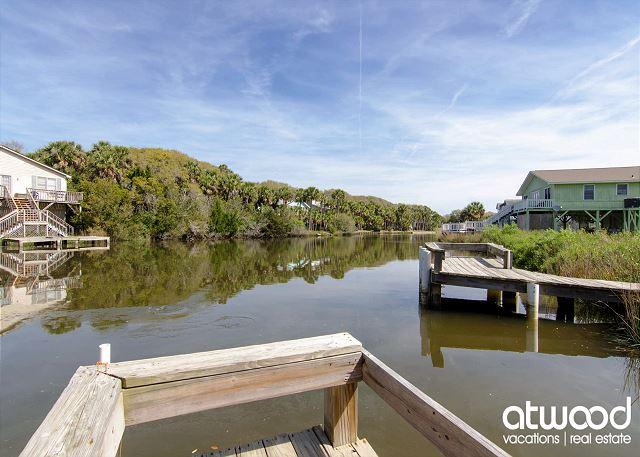 Sea Grass - Easy Beach Access, Screened Porch, Ocean View - Image 1 - Edisto Island - rentals