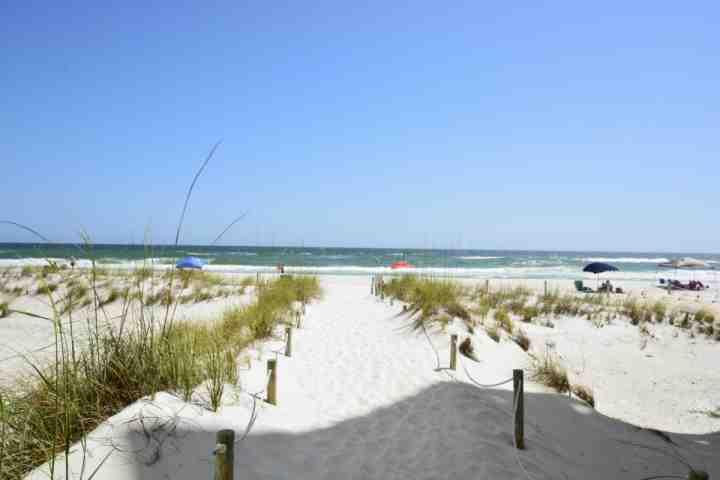 Path leading to the Beautiful Sugar Sand Beaches and the Emerald Green Waters of the Gulf of Mexico - Sea Bluff's #11 - Relax 30A Style! Community Pool & Steps to Beach! - Santa Rosa Beach - rentals