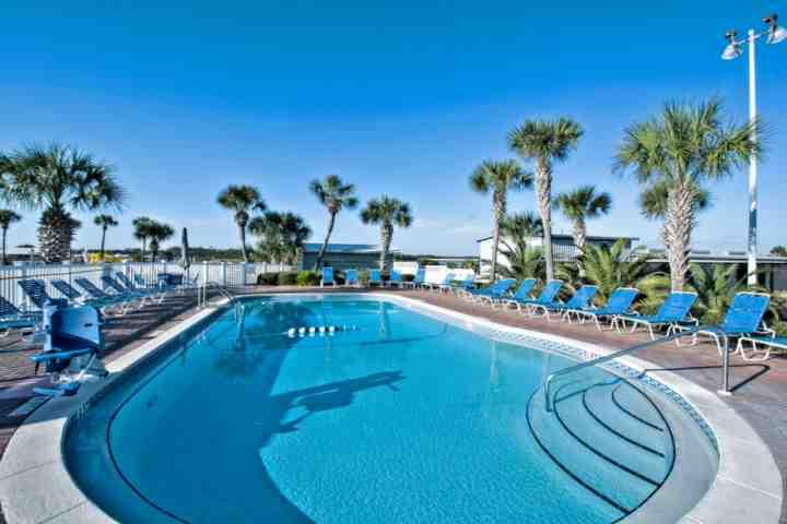 Community Pool - Luxury Gulf Front 2 Bedroom with Pool and Fitness Room - Panama City Beach - rentals