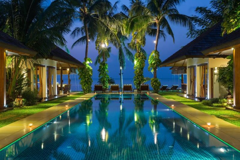 Samui Island Villas - Villa 29 Luxury Beach Front - Image 1 - Plai Laem - rentals