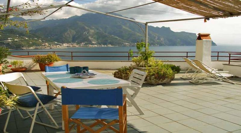 01 La Mansarda terrace - LA MANSARDA Castiglione/Ravello - Amalfi Coast - Ravello - rentals