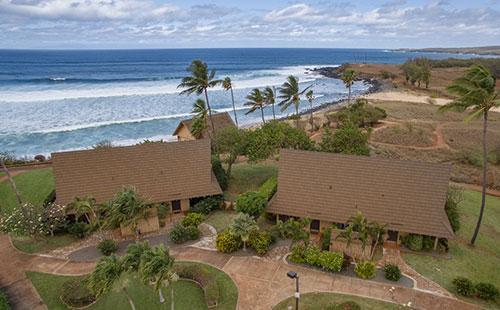 Aerial View - Cottage 2B - Maunaloa - rentals