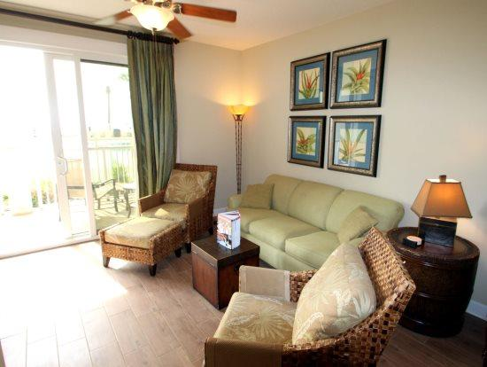 Enjoy FREE BEACH CHAIR SERVICE with rental of our beautiful Ground Floor 2 Bedroom at Grand Panama Resort - Image 1 - Panama City Beach - rentals