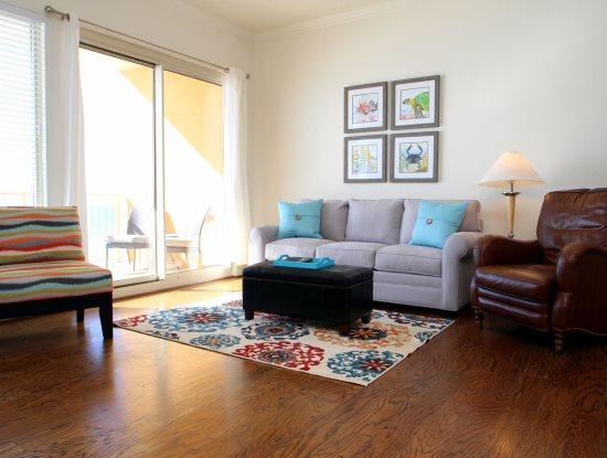 Enjoy FREE BEACH CHAIR SERVICE with rental of our 5th Floor 2 Bedroom at Beautiful Treasure Island- Spring Breakers Welcome - Image 1 - Thomas Drive - rentals
