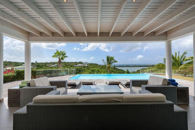 NO LIMIT...Terres Basses, St. Martin 800 480 8555 - NO LIMIT...3 equal master suites, luxury, views, great for couples! - Terres Basses - rentals