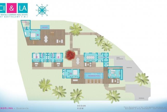 Villa Angelina St Barts Rental Villa Angelina - Image 1 - Petit Cul de Sac - rentals