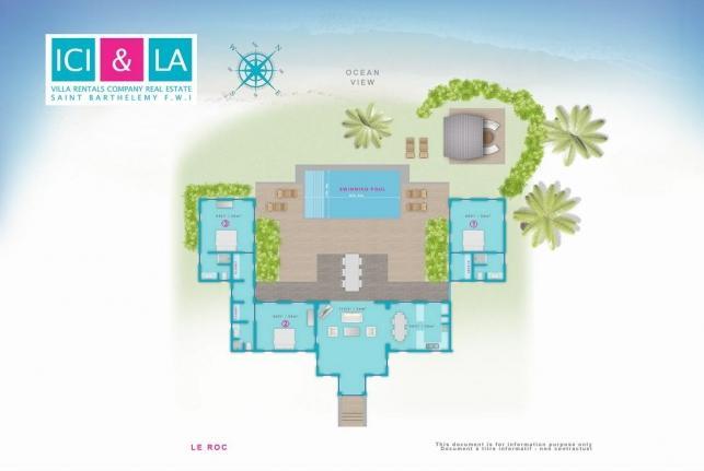 Villa Le Roc St Barts Domaine du Levant St Barts - Image 1 - Petit Cul de Sac - rentals